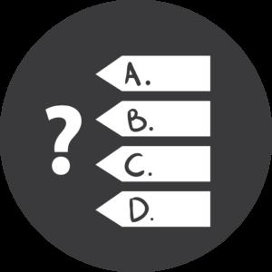 Online dansles afsluiten met een test icon 2