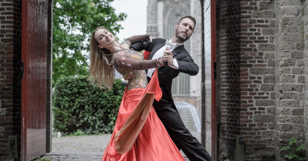 Stijldansen in Leiden - Ballroom in de Burcht - Robin en Patty 2017